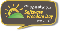 I'm speaking at SFD, are you?